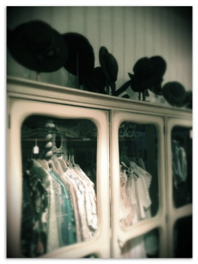 The cabinet of wonders - where Mimi places the oldest, delicate and expensive pieces!