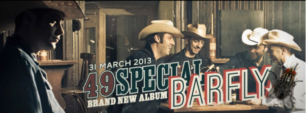 The brand new cd & marchandise for the next 49 Special album